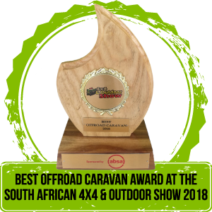 Best Offioad Caravan at the South African 4x4 & Offroad Show 2018