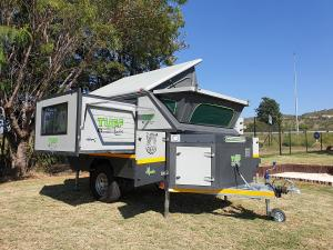 Mbada off-road caravan