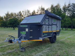 Shumba off-road caravan