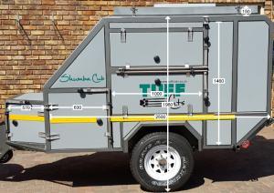 Shumba Cub Off-Road Caravan - Side 1 Specifications